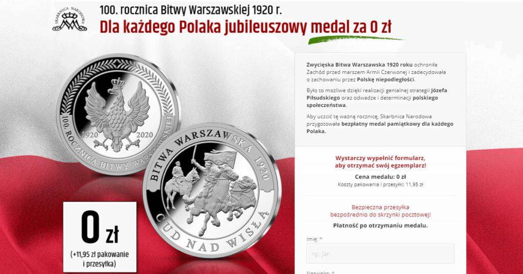 darmowy medal 2020