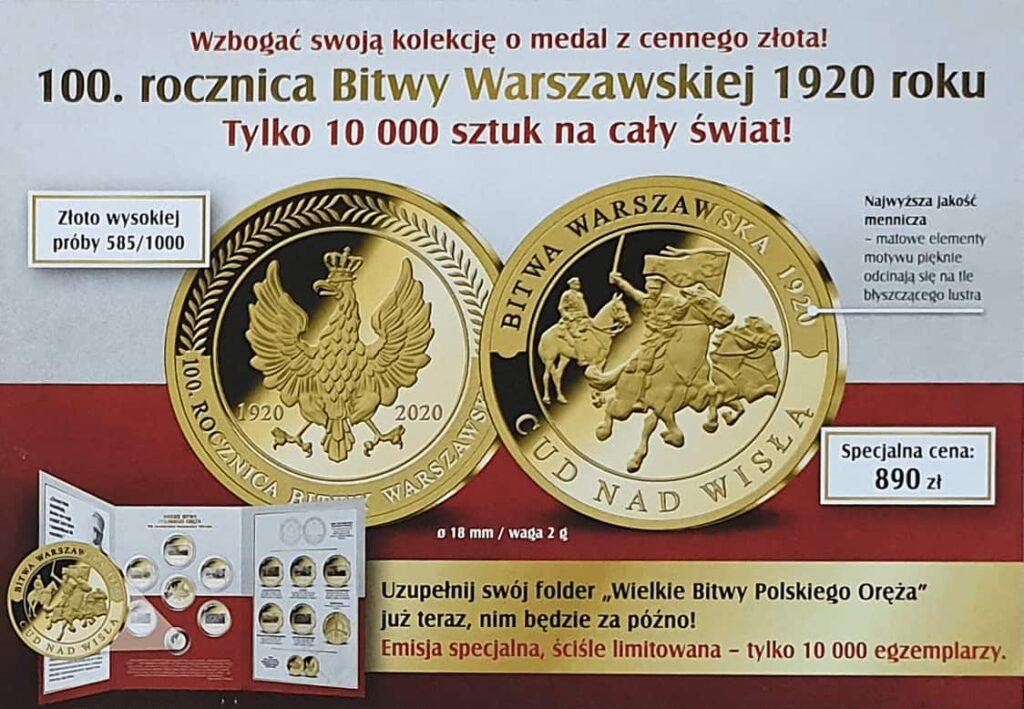 skarbnica narodowa medale